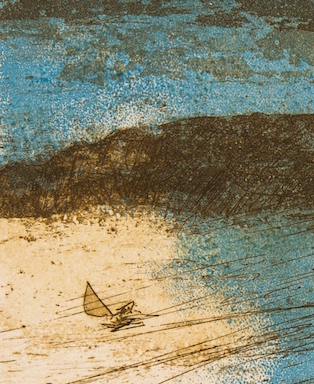 177.-Immersion-Mei-Sheong-Wong-Cape-de-Couedic-detail-Copper-plate-etching-with-relief-roll-35.5-x-25.5-cm-Artist-Proof-2014-Cape-de-Couedic